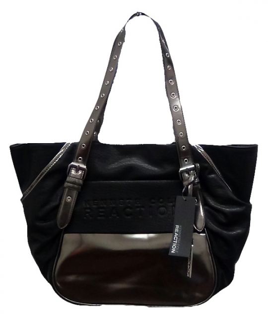 Kenneth Cole Reaction Handbags [Black-Grey]