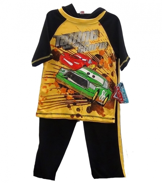 Disney Pixar Cars Boys 2 Piece Set