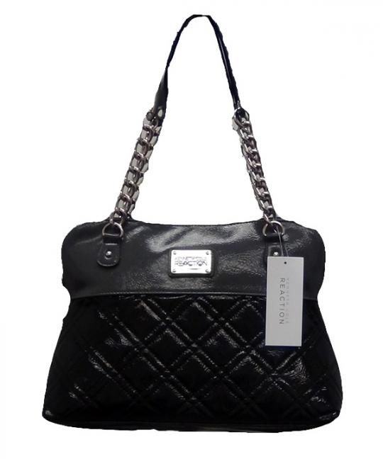Kenneth Cole Reaction Handbags [Black-DarkGrey]