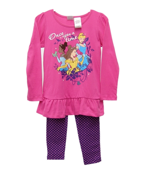 Disney Girls 2 Piece Set [Pink]