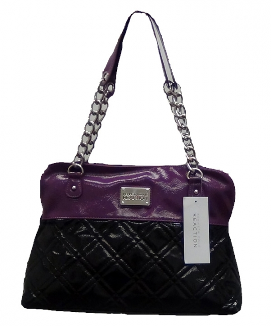 Kenneth Cole Reaction Handbags [Black-Berry]