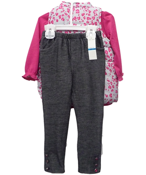 Baby Headquarters Baby Girls 3 Piece Set [Assorted]