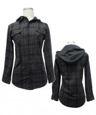 Women's Designer Long Sleeve Hoodie Top