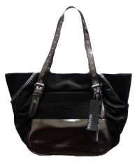 Kenneth Cole Reaction Handbags [Black-Grey]