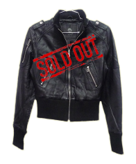 Uniquism Women's Lambskin Leather Jacket