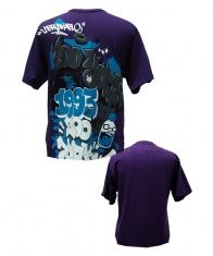 Zoo York Mens T-Shirt [Eggplant]